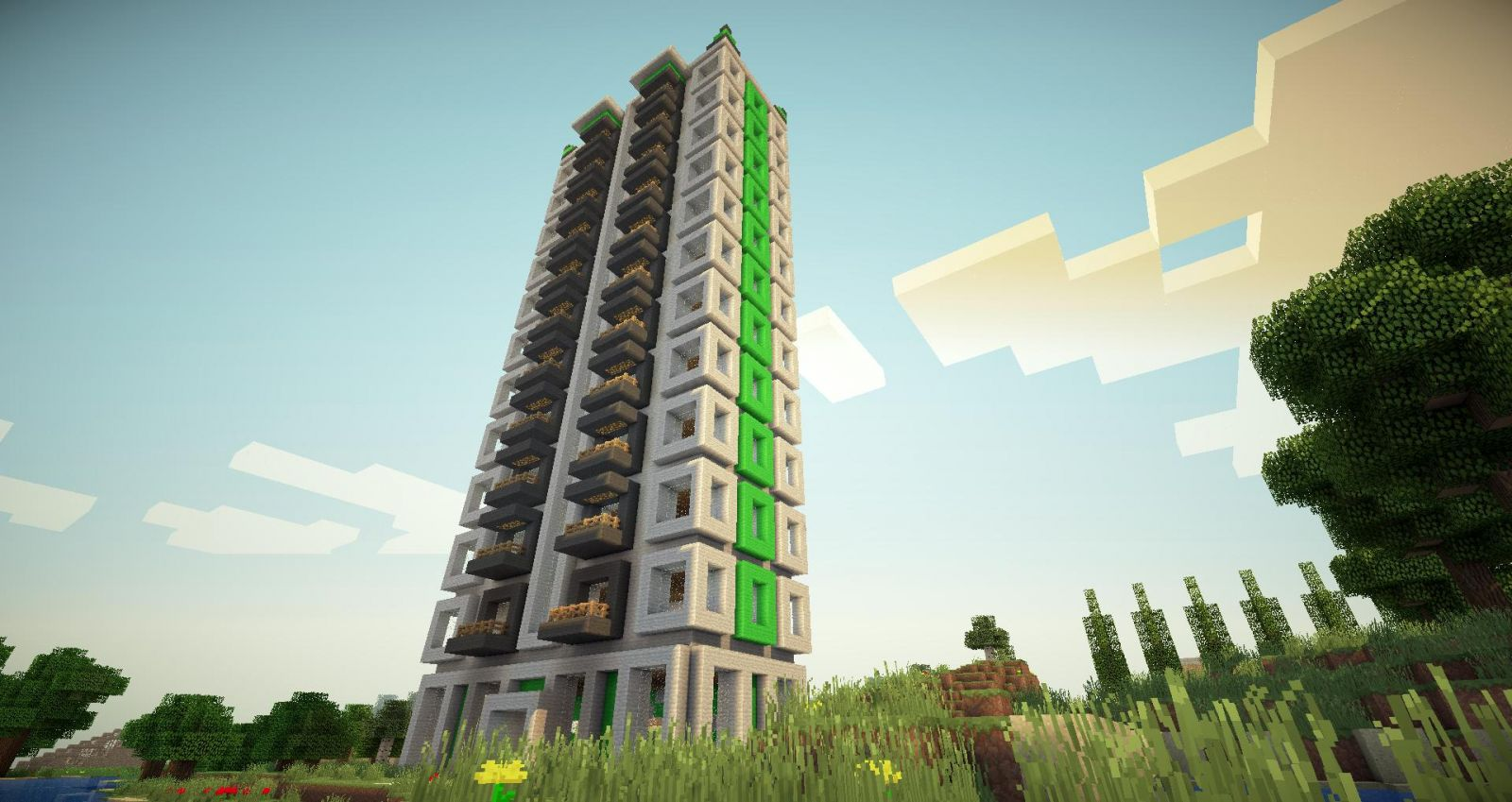 Apartamentowiec na osiedlu NewCity