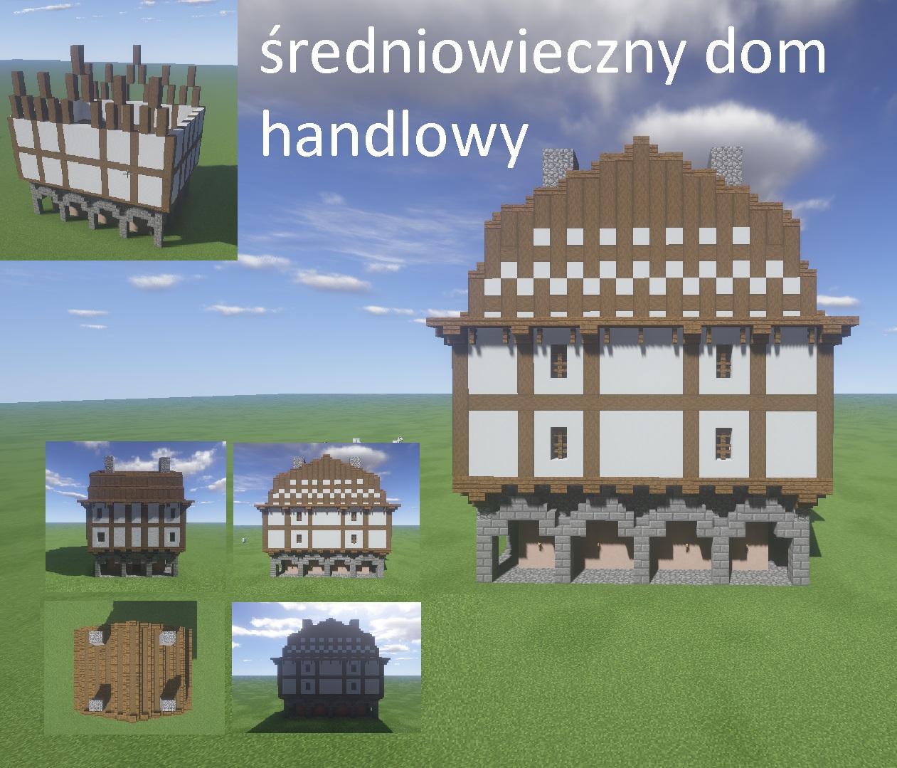 Średniowieczny dom handlowy